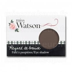 Fard à paupières n°14 Regard de braise Miss W - Cacao mat