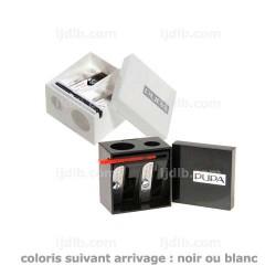 Taille Crayon Double Standard Jumbo 01 Pupa - Blanc ou Noir (selon arrivage)