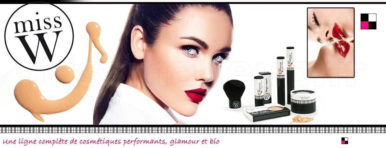 Ligne cosmétiques Miss W